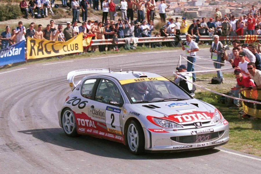 Rally Catalunya Peugeot 206 WRC
