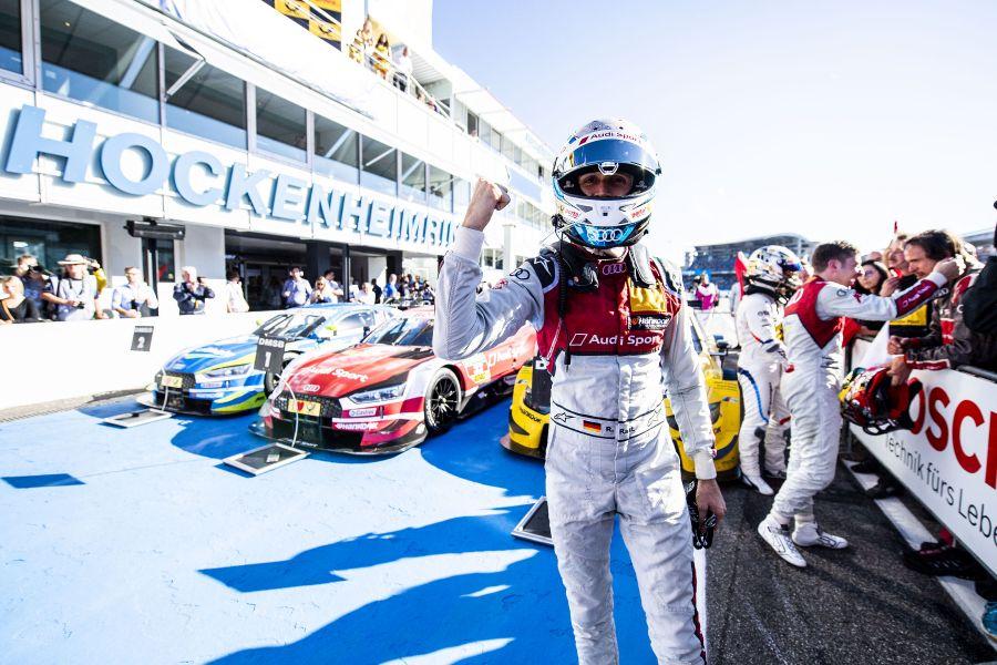 René Rast has won both races at Hockenheimring