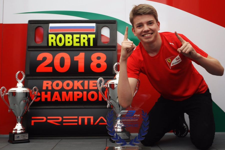 Robert Shwartzman is ther best rookie in the 2018 Formula 3 European Championship