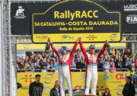 Sebastien Loeb, Daniel Elena, 2018 Rally Catalunya