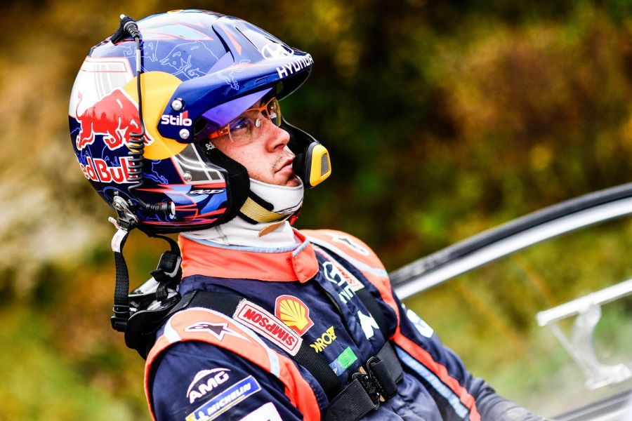 Thierry Neuville is still the championship leader