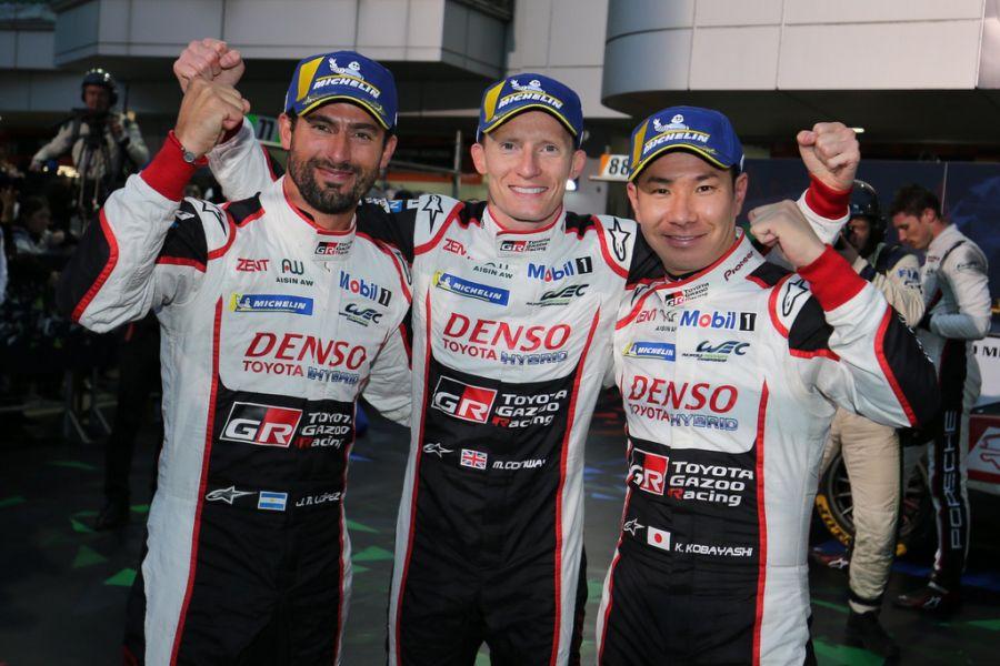 6 Hours of Fuji Toyota victory