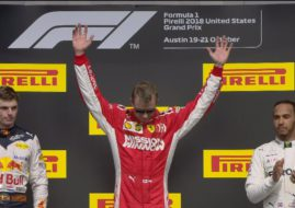 Kimi Raikkonen wins the 2018 US Grand Prix
