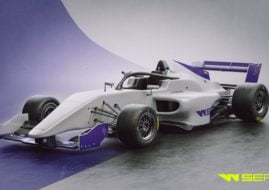 W Series race car