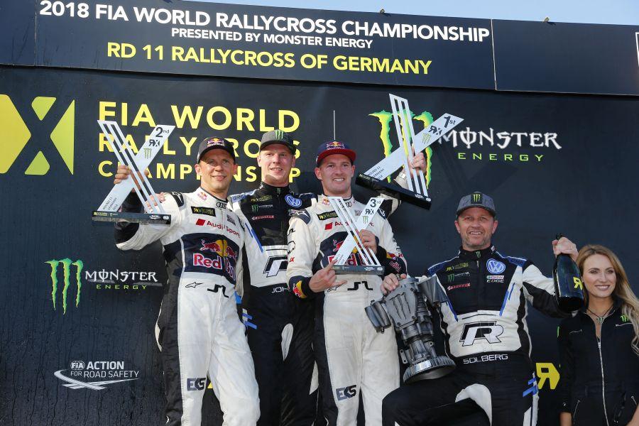 World RX Estering podium