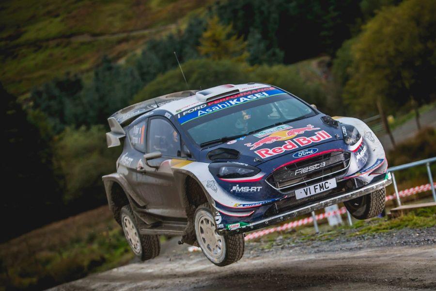 Sebastien Ogier wins 2018 Wales Rally GB