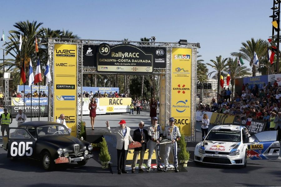 Rally Catalunya anniversary, Alfa Romeo 1900, VW Polo R WRC