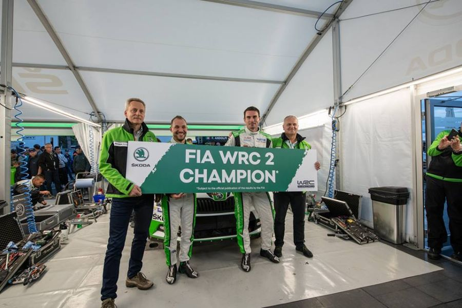 Jan Kopecky is the WRC2 champion