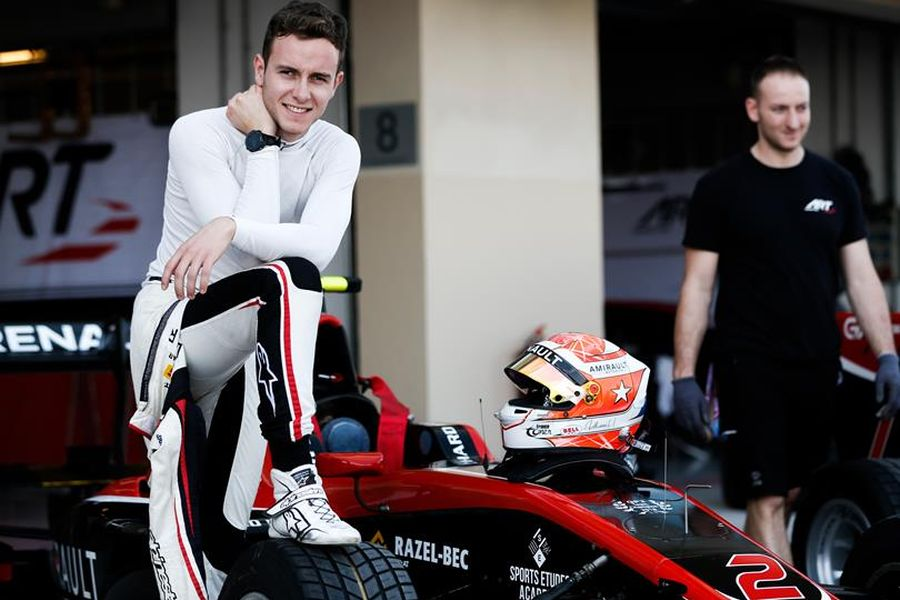 Anthoine Hubert - 2018 GP3 Series champion
