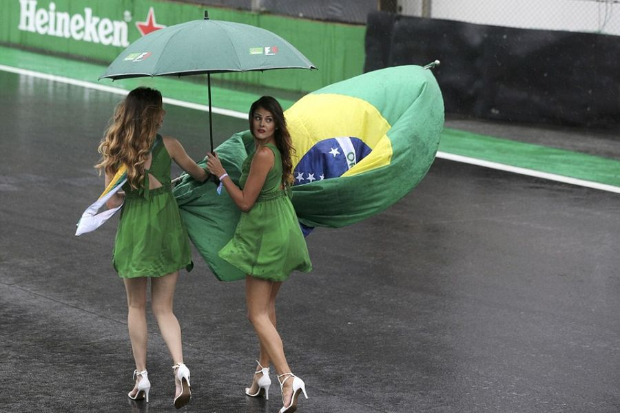 Brazilian Grand Prix, grid girls