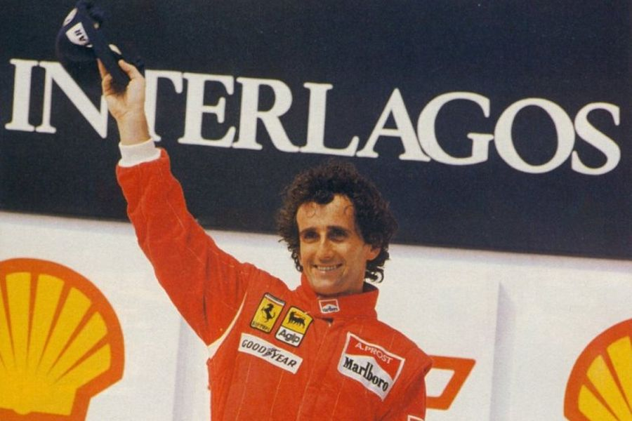 Alain Prost has won five times at Jacarepagua and once at Interlagos