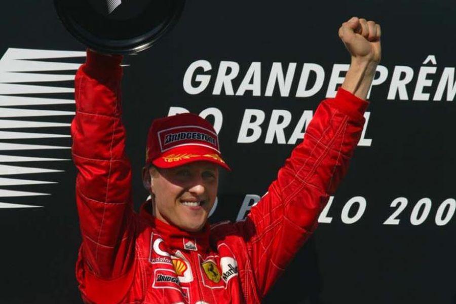 Michael Schumacher at 2002 Brazilian Grand Prix
