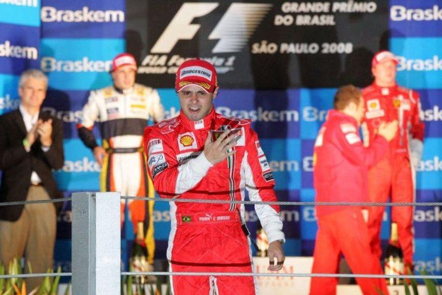 Felipe Massa at 2008 Brazilian Grand Prix