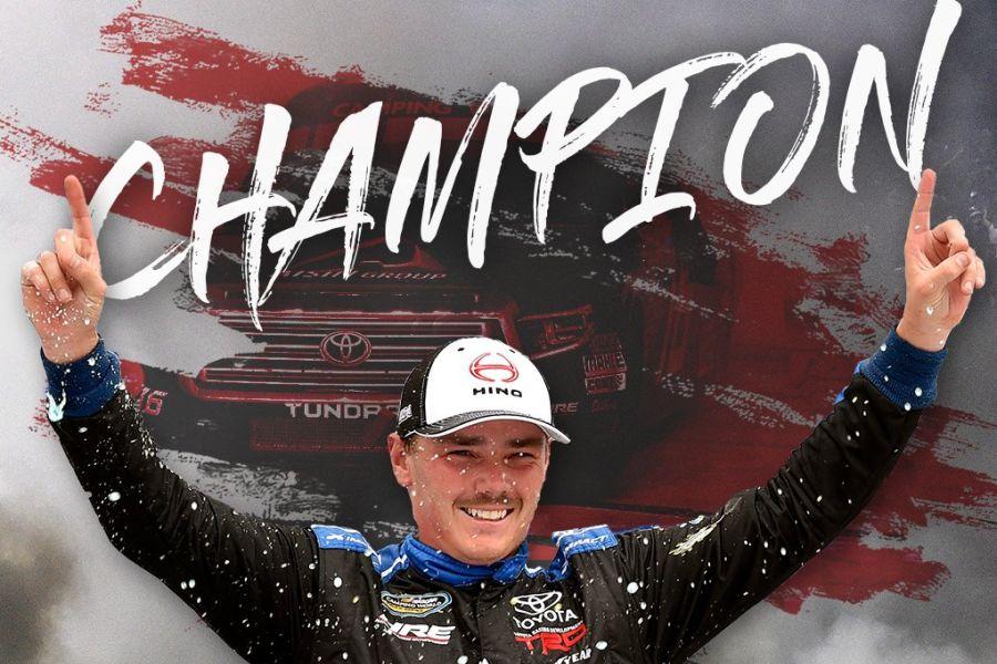 Brett Moffitt 2018 NASCAR Truck Series champion