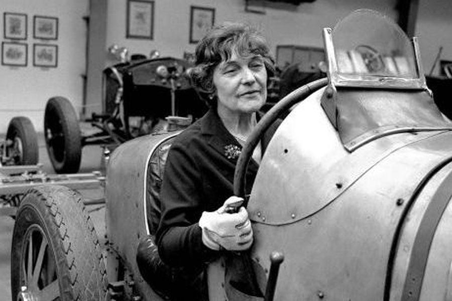 Eliska Junkova Bugatti