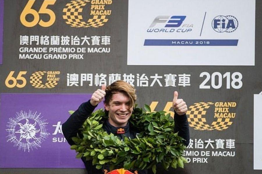 Dan Ticktum wins 2018 Formula 3 Macau Grand Prix