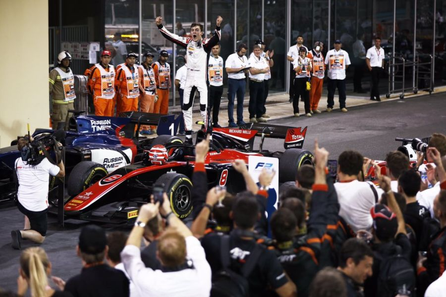 George Russell FIA Formula 2 champion 2018