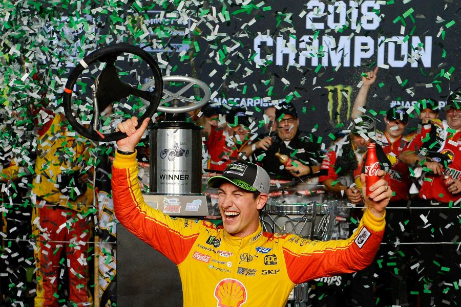 Joey Logano 2018 NASCAR Cup Series champion