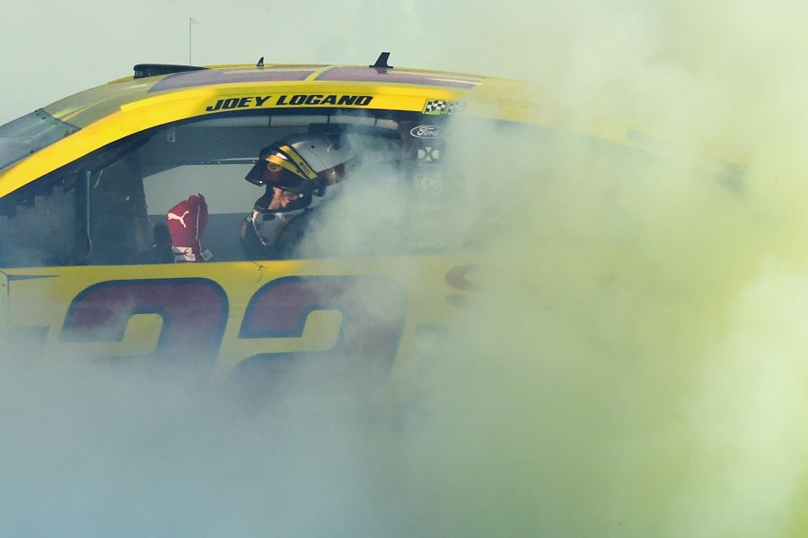 New Cup Series champion Joey Logano