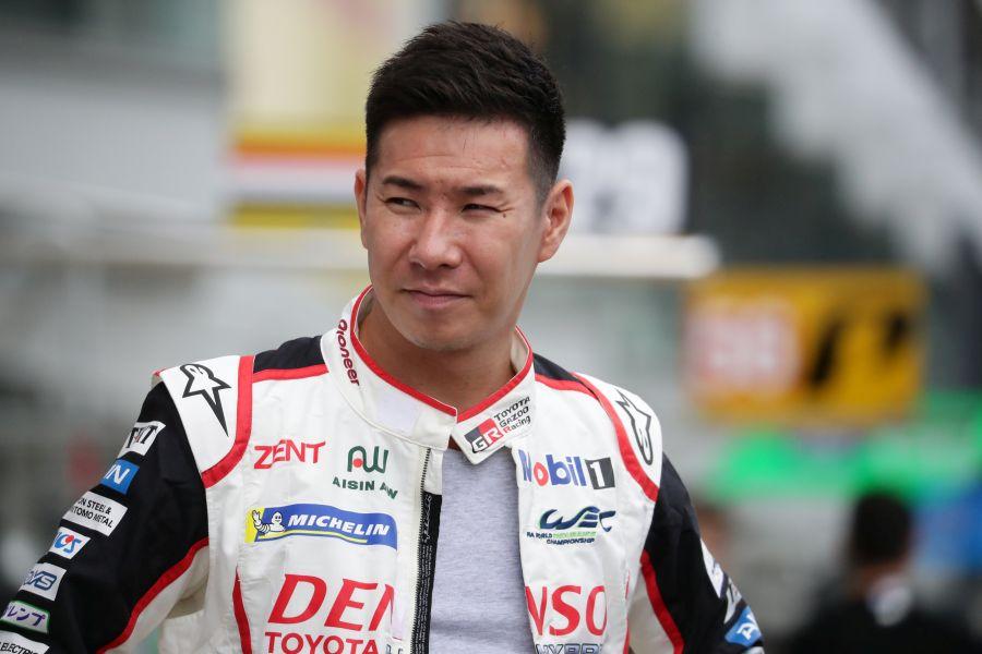 Kamui Kobayashi Toyota FIA WEC