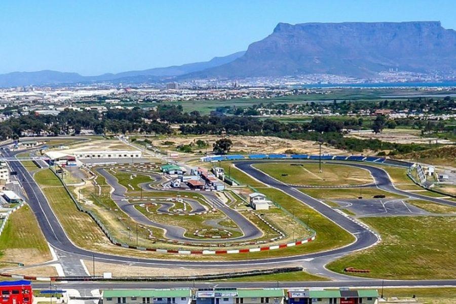 Killarney International Raceway, Killarney Motor Racing Complex, Cape Town, South Africa, Table Mountain