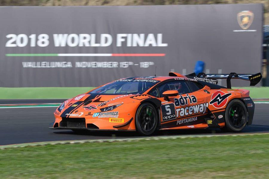 Lamborghini Super Trofeo 2018 World Final Vallelunga, Zampieri & Altoe