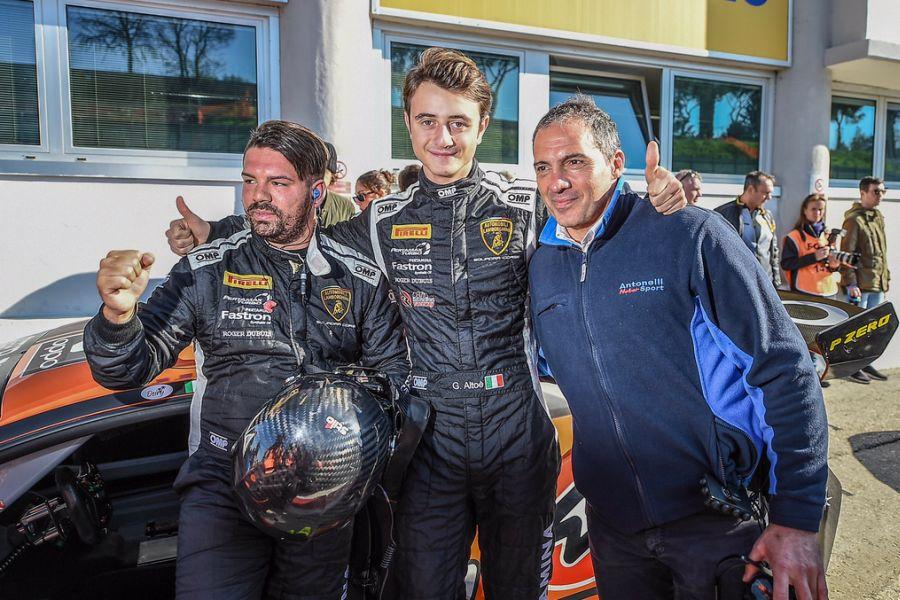 Lamborghini Super Trofeo World Final, Daniel Zampieri, Giacomo Altoe, Antonelli Motorsport