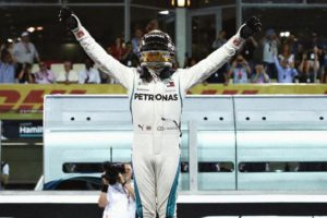 Lewis Hamilton Abu Dhabi Grand Prix