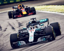 Lewis Hamilton wins at Interlagos, Mercedes secures Constructors' title