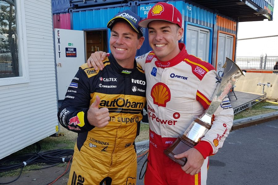 Craig Lowndes, Scott McLaughlin