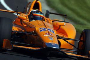 Fernando Alonso at 2017 Indianapolis 500