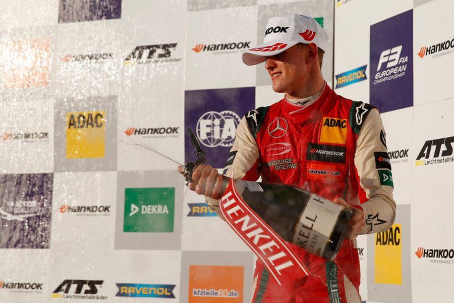 Mick Schumacher 2018 F3 champion