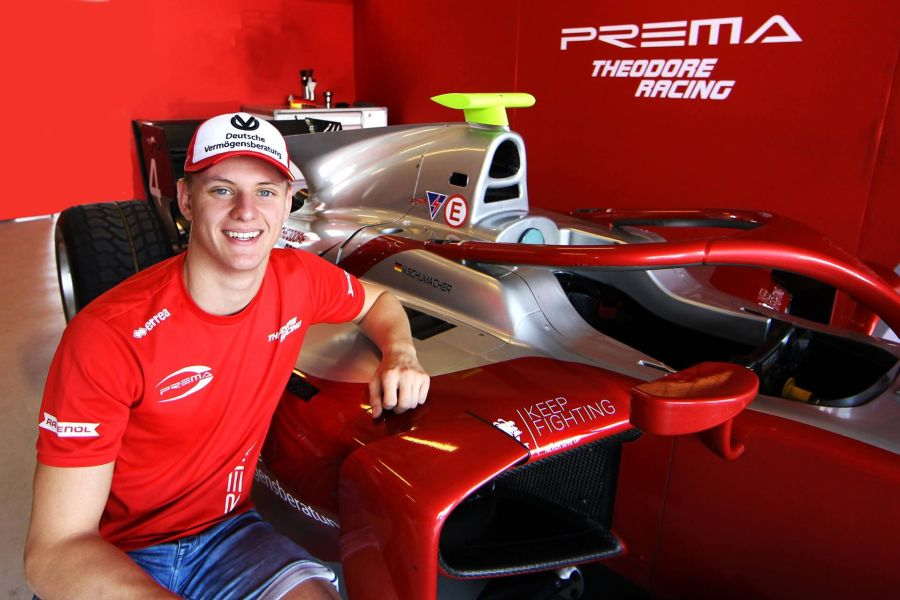 Mick Schumacher, Prema Theodore Racing