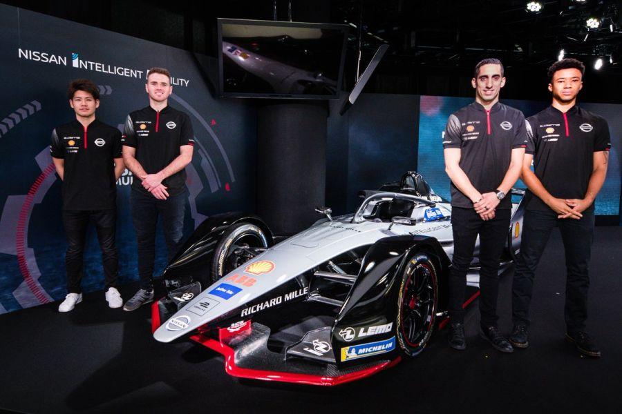 Nissan e.dams drivers for 2018-2019 Formula E season