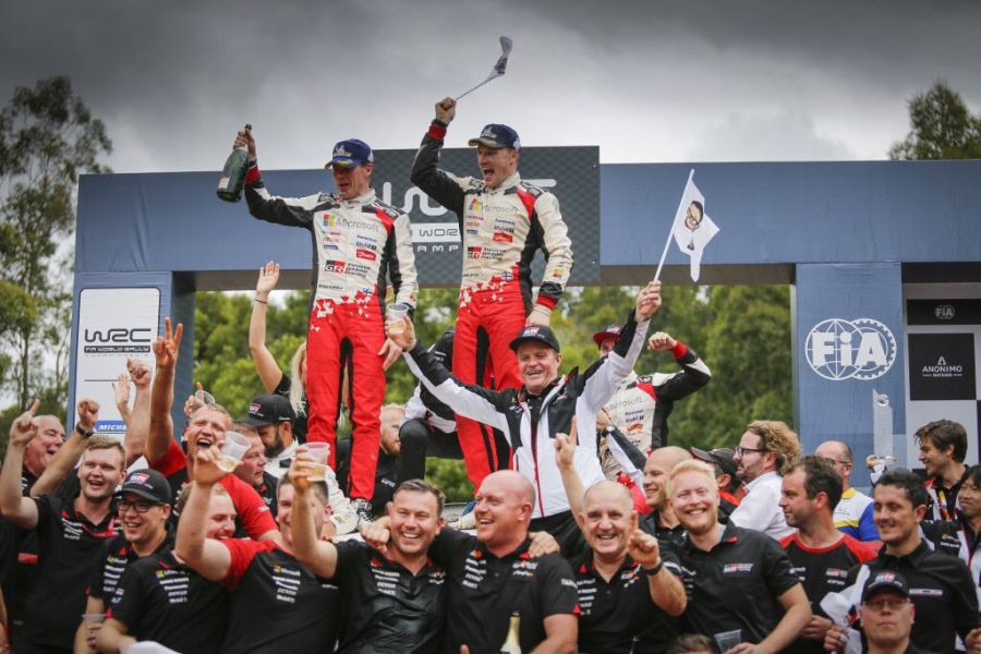 Rally Australia Latvala winner