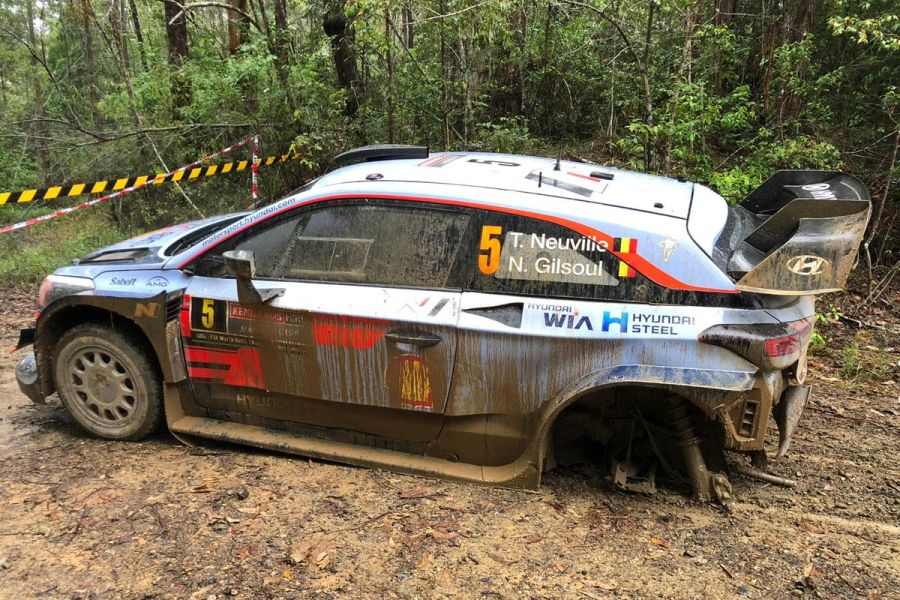 Rally Australia Thierry Neuville