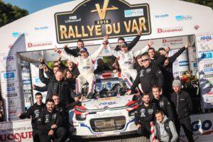 Yoann Bonato, 2018 Rallye du Var