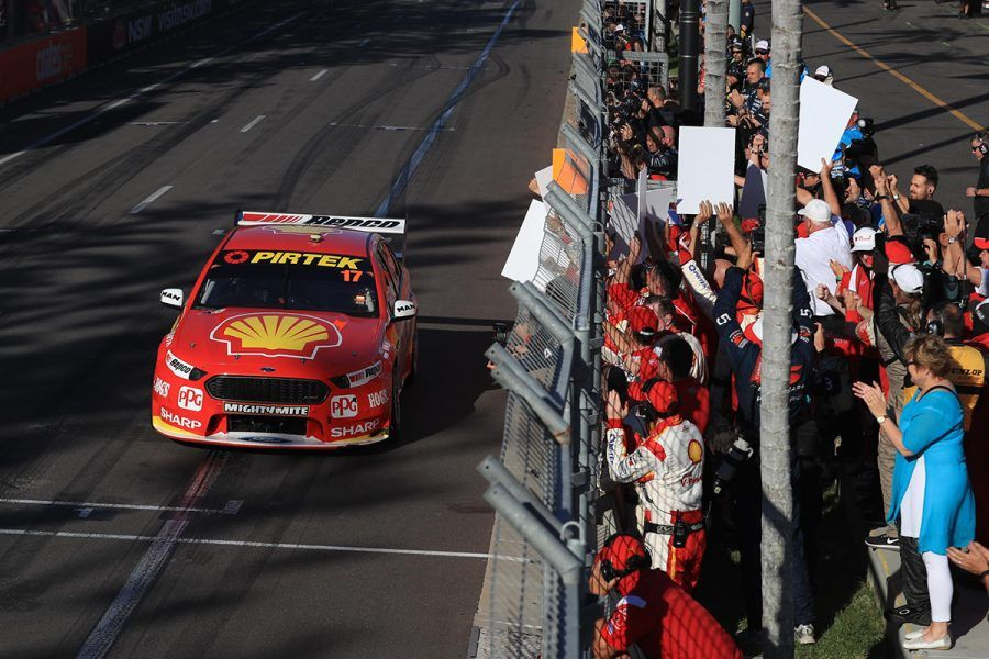 Scott McLaughlin 2018 Supercars champion 2