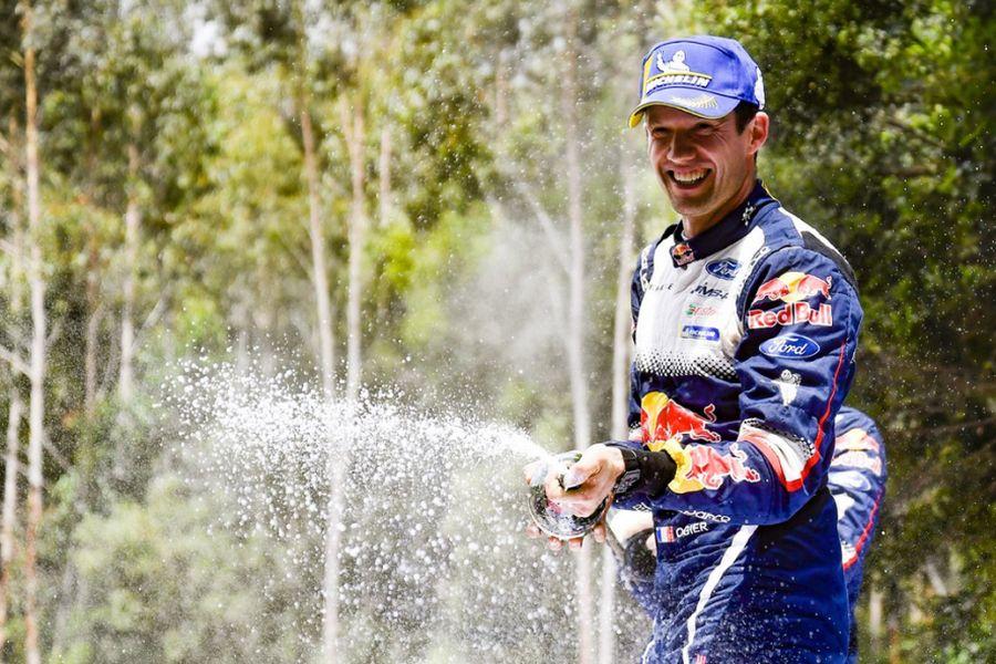 Sebastien Ogier 2018 world rally champion