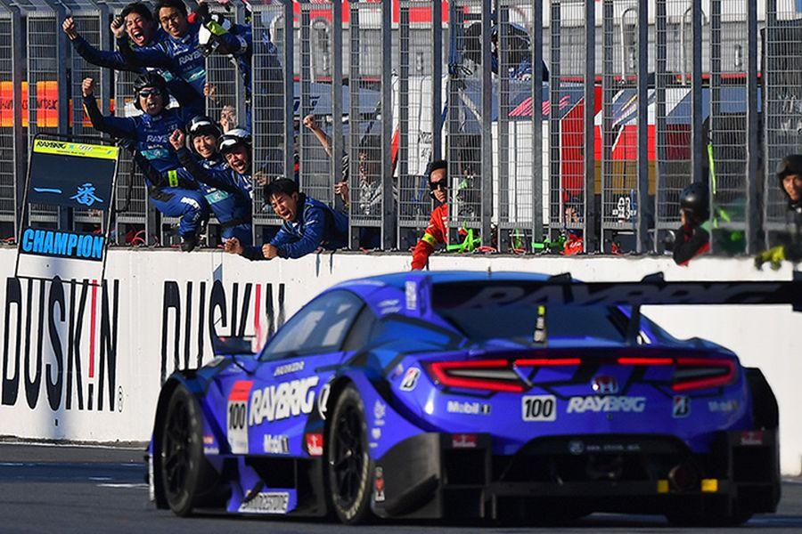 Championship winning #100 Honda