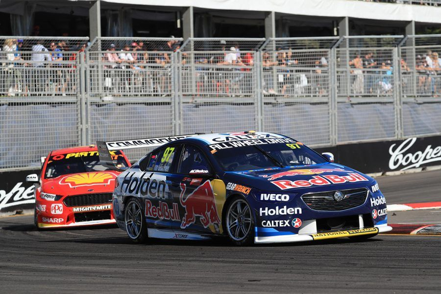 Supercars, Newcastle 500, Race 1, Shane van Gisbergen, Scott McLaughlin