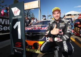 Supercars, Newcastle 500, Race 1 winner Shane van Gisbergen