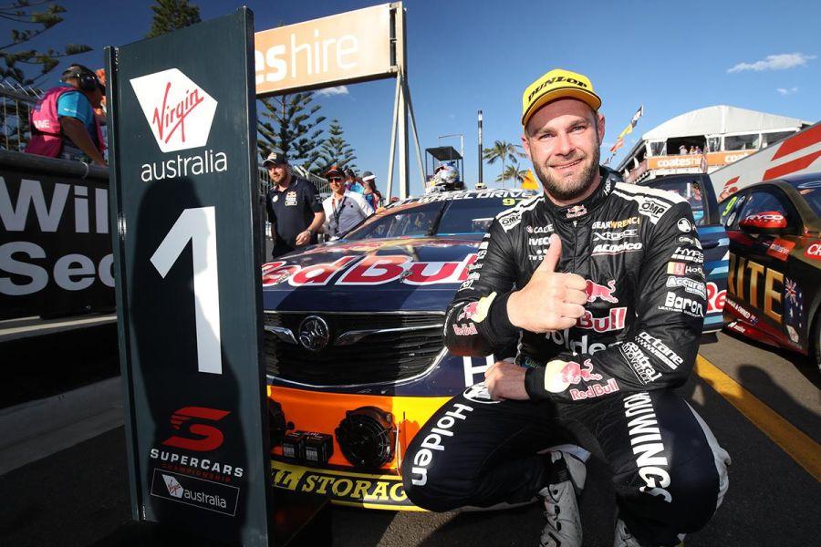Supercars, Newcastle 500, Race 1 winner Shane van Gisbergen