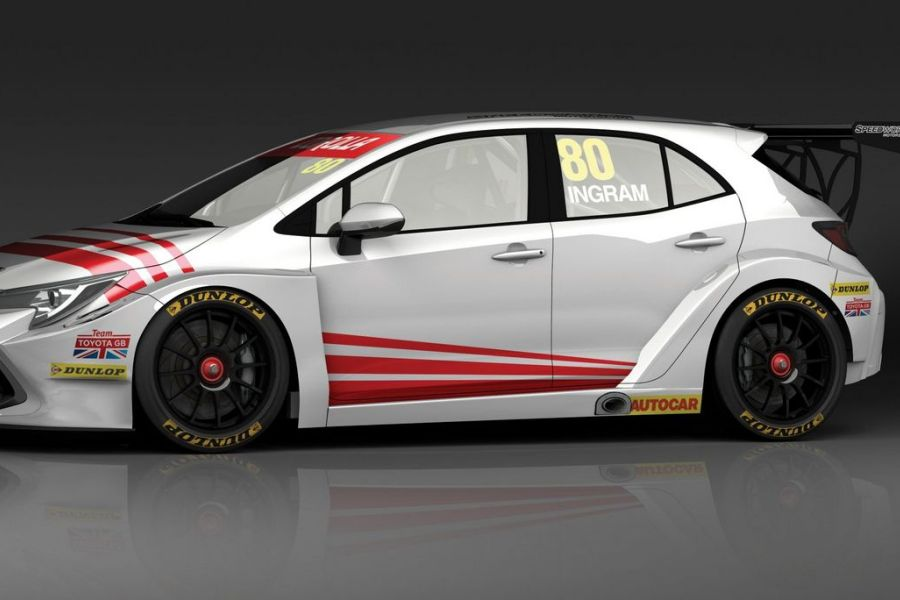 Toyota Corolla BTCC Speedworks Motorsport, Tom Ingram