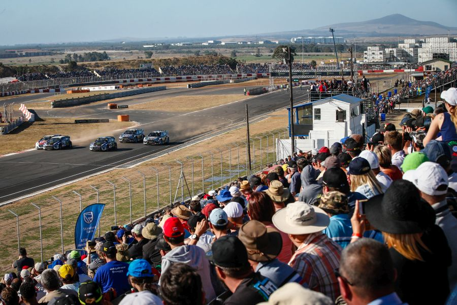 World Rallycross Championship, Killarney, South Africa