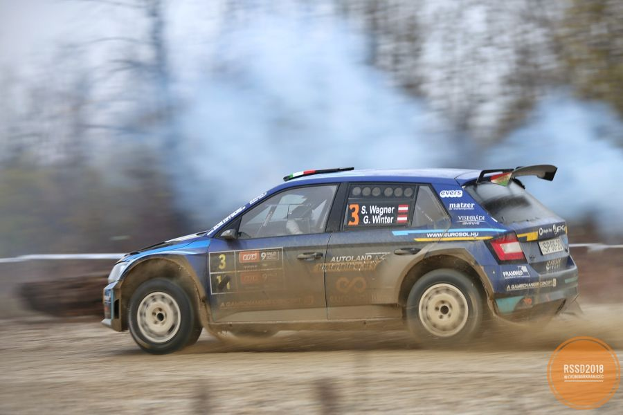Simon Wagner at 9th Rally Show Santa Domenica