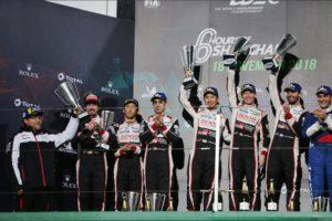 FIA WEC Shanghai Toyota Gazoo Racing