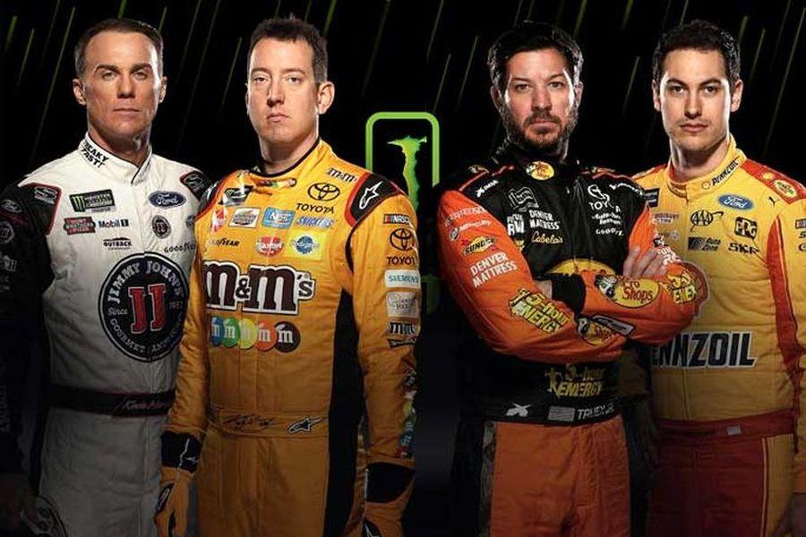2018 Monster Energy NASCAR Cup Series Championship 4: Kevin Harvick, Kyle Busch, Martin Truex Jr., Joey Logano