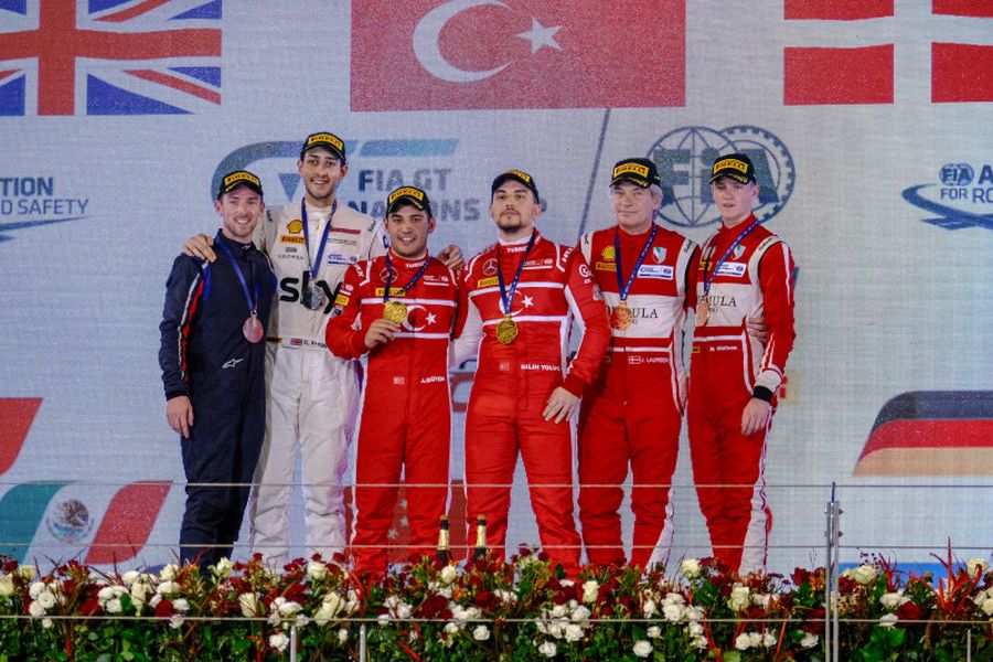 FIA GT Nations Cup podium