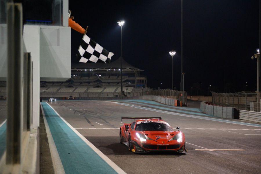 2018 Gulf 12 Hours, #11 Ferrari 488 GT3 Kessel Racing